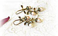 Cercei Crengute cu perle