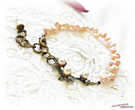 Bratara Crengute cu perle