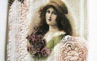 Decoratiune vintage-faianta