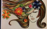 Tablou Quilling on canvas