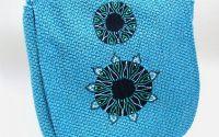 Geanta rotunjita medie - Blue Mandala