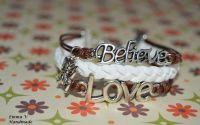 Bratara Believe si Love