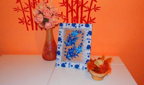 Mini tablou decorativ