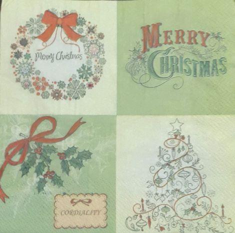 985 Servetel tablou Merry Christmas
