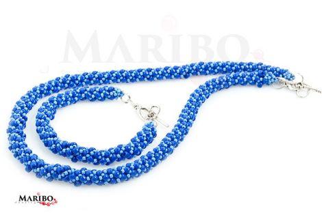 Set Russian Spiral Albastru