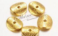 Distantier disc auriu antichizat