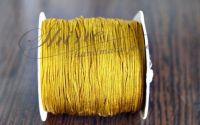 Snur nylon Dark Golden 1mm