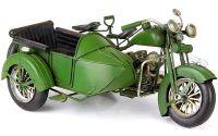 MODEL MOTOCICLETA VERDE