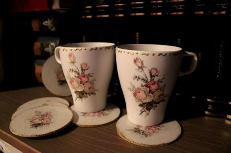 Set cani delicate in stil shabby chic