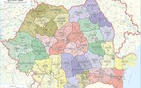 Harta Romania Administrativa Coduri Postale