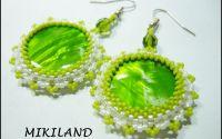 Cercei sifef verde