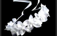Reducere Coronita cu flori albe mireasa