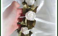 Coronita trandafiri pt domnisoare de onoare