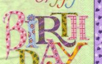 Servetel Happy Days green - S1176