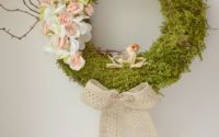 Coronita decorativa cu flori