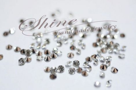 Starsuri Rhinestone Clear 3mm 10buc