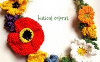 Coronita cu flori de camp