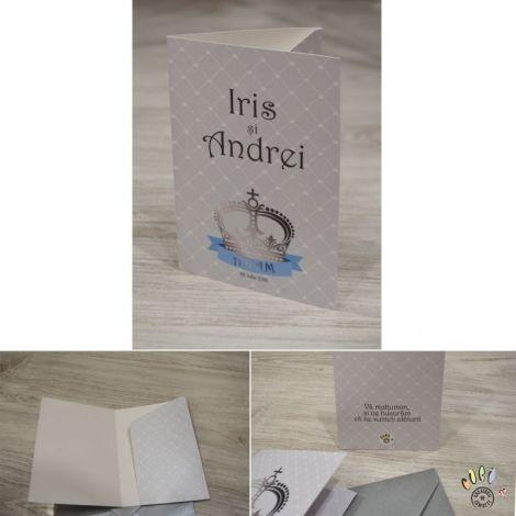 place card plic de dar botez tema printul