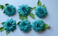 Flori turcoaz