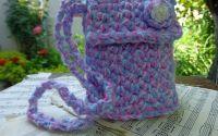 Gentuta Dama Crosetata Shabby Chic Handmade