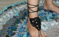 Accesorii crosetate pentru picioare