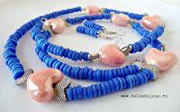 Set de bijuterii inimioare