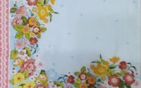 1095 Servetel bordura flori