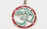 Pandantiv tibetan simbol Ohm