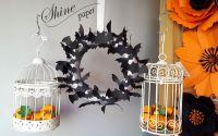 Coronita Halloween cu lilieci