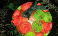 Glob colorat pentru bradul de Craciun