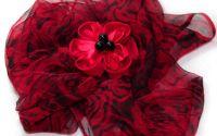 Esarfa Red Roses