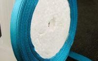 6 mm panglica satin - Sea Blue