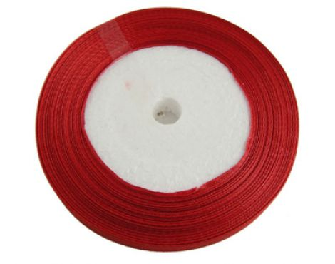 10 mm panglica satin - red