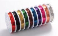 10 role sarma cupru bijuterii mixed colour 0.4mm