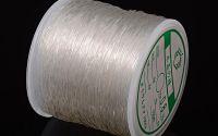 100m Crystal Thread - elastic transparent 0.8mm