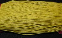 80m snut bumbac cerat 1mm - Yellow