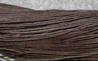 80m snut bumbac cerat 1mm - Dark Brown