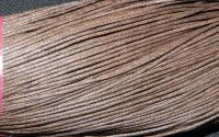 80m snut bumbac cerat 1mm - Brown