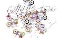 Nasturi din lemn bicicleta div. culori