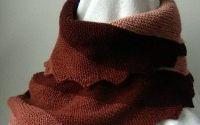 Fular asimetric degrade 5 culori
