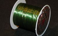 10m Crystal String elastic Green 0.8mm