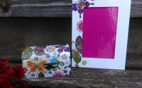 Set cadou cutiuta si rama foto din lemn