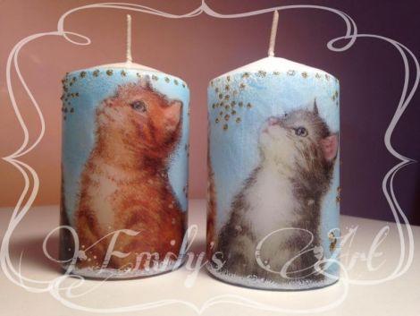 Lumanari cu pisici
