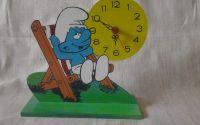 ceas cu postament pentru copii