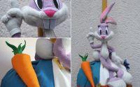 lumanare botez cu plus Bugs Bunny Looney Tunes