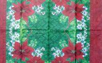 1169 Servetel Floarea Craciunului