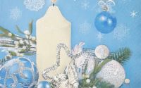 1181 Servetel decoratiune de iarna 2