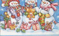 1193 Servetel oameni de zapada cu cadouri