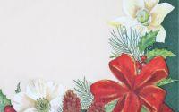 1195 Servetel flori de Craciun 2