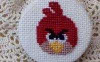 Brosa brodata manual - Angry birds